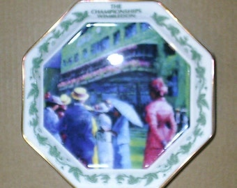 Wedgwood Wimbledon Collection Octagonal Tray Boxed