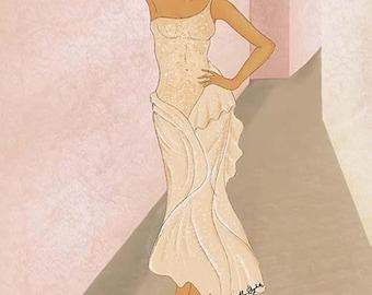 Fumidinisi Fashion Illistration