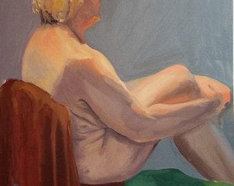 Female Figure Painting