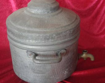 Very Original Antique Hand Made Ottoman Style Copper Tea-Urn #78