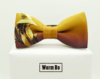 The Lord of the Rings Bow tie, Brown bowtie, Gandalf the Grey
