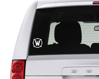 World of Warcraft Indoor/Outdoor Decal