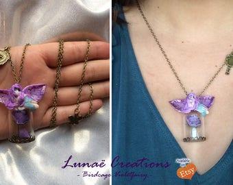 Purple Fairy birdcage