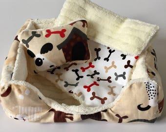 """Pet Bed for 18"""" Doll/3pc Pet Bed/Doll Pet Bed/Pet Bedding/Pet Buddies"""