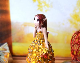 "Miniature ""Amber melancholy"""