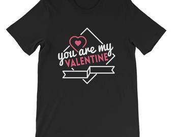 Valentine's Day Short-Sleeve Men's T-Shirt
