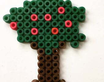 tree in hama beads