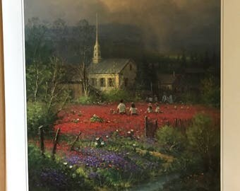 G Harvey NATION'S HERITAGE Lithograph Signed Numbered Limited Edition