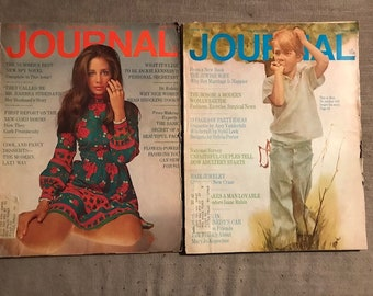 Two Editions of Ladies Home Journal 1969