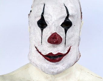Mr. Beady Scary Simple Clown Mine Inspired Latex Half Mask