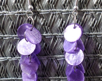 Ethical earrings - fair trade from Bali