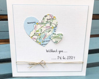 Without you I'd be lost card