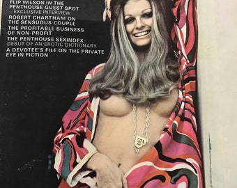 Vintage Penthouse Magazine: January 1972