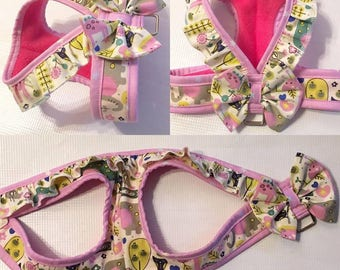 Pet  Harness * No Escape * No Choke * Step-In * Soft Padded * Walking Style for puppy kitty cats and small pets