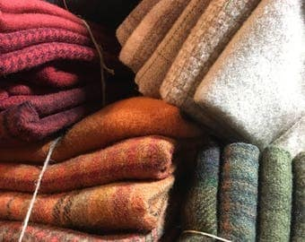 Wool ~ Color Plan Packs ~ 5 Fat Quarters
