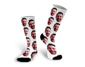 Photo Socks, Custom Socks, Socks, Personalized Socks, Custom Printed Socks, Picture Socks, Photo Gift, Custom Photo Socks --62151-SOX1-603