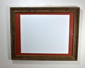 18x24 Rustic Frame Etsy