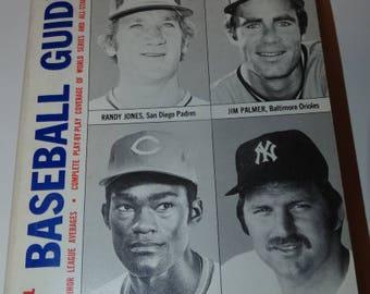 1977 Official Baseball Guide Book, The Sporting News, Sports Memorabilia, Baseball, Bat, National League, American League, World Series