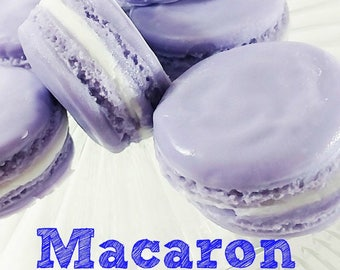 Macarons. Macaron Soap. Unique Gift. French Macarons. Gift for Her. Artisan Soap. Glycerin Soap. Gift for Teens. Gift for Wife. Boss Gift