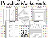 Practice Sewing Worksheets