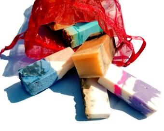 Soap, 1lb Assorted Soap, Soap Samples, Soap Sampler, Handmade Soap, Vegan Soap, Natural Soap, Soap Grab Bag, Soap Gift, Soap Sample Gift