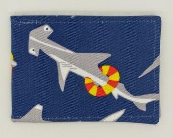 Oyster card holder, bus pass holder, travel card holder, wallet. Shark  print wallet . Card wallet, Oyster card wallet, credit card holder