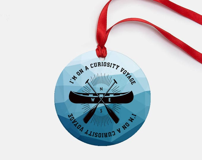 Featured listing image: Stranger Things inspired  Christmas Tree Ornament - I'm on a curiosity voyage