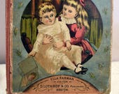 Babyland-Antique Children's Book Series, Ella Farman Pratt -1879 Volume III No. 9 - No. 12 Adorable & Charming Illustrations Sweet Graphics