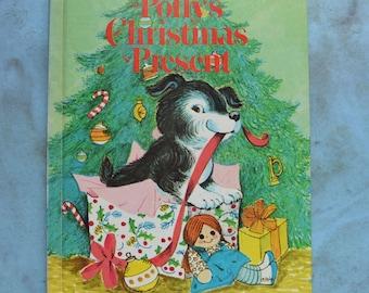 Vintage Polly's Christmas Present Irma Wilde Wonder Book 1976