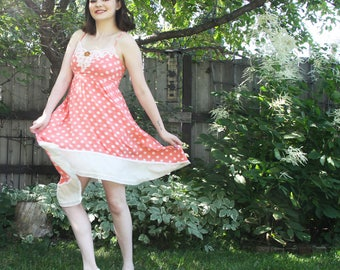 RESERVED upcycled clothing, dress . avonlea . S