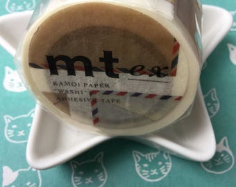 Rare Washi - Envelopes Japanese Washi Masking Tape - Wide mt ex  40mm x 10m