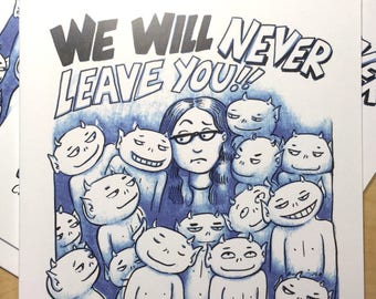 We Will Never Leave You - 5 copies