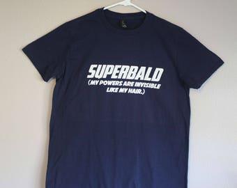 Super Bald Men's Tshirt