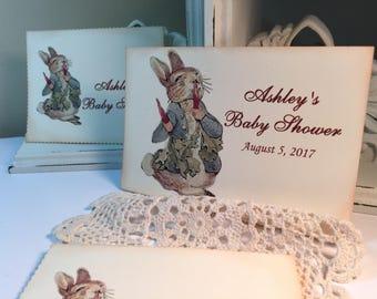 Beatrix Potter..Peter Rabbit Sign ..Cake Table..Gift Table..Peter Rabbit ..Sign for Favor Table Treat Table Sign
