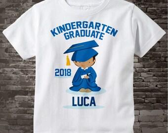 Personalized Kindergarten Graduate Shirt Kindergarten Graduation Shirt Child's Graduation Shirt 05282015f