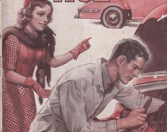 March 1944 Motor Age Magazine Automotive Servicemen Service Chrysler Vacamatic