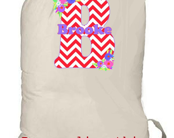 Extra large laundry totebag, personalized monogrammed beach bag, tote bag, grad gift, kids summer camp bag, travel bag, weekender bag, gift