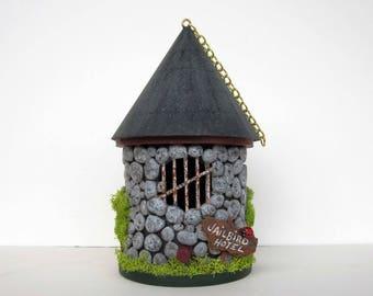 Jail Bird Hotel Mini Birdhouse