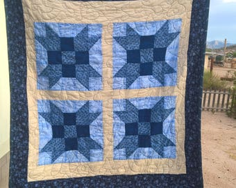 "Baby boy ""The Farmer's Son"" quilt"