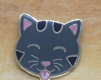 Cat Blep Cat Pin Enamel Pin Cat Lover Lapel Pin
