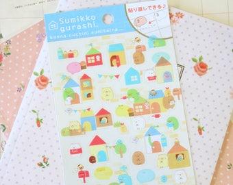 02 Ver 2 Sumikkogurashi Cute Animals scrapbooking stickers