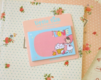 Love Pony Brown Little Talk Sticky Notes Ver 2