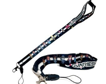 NEW Deluxe Overwatch Girls Ovarieswatch Lanyard with Mobile Strap and Breakaway Buckle