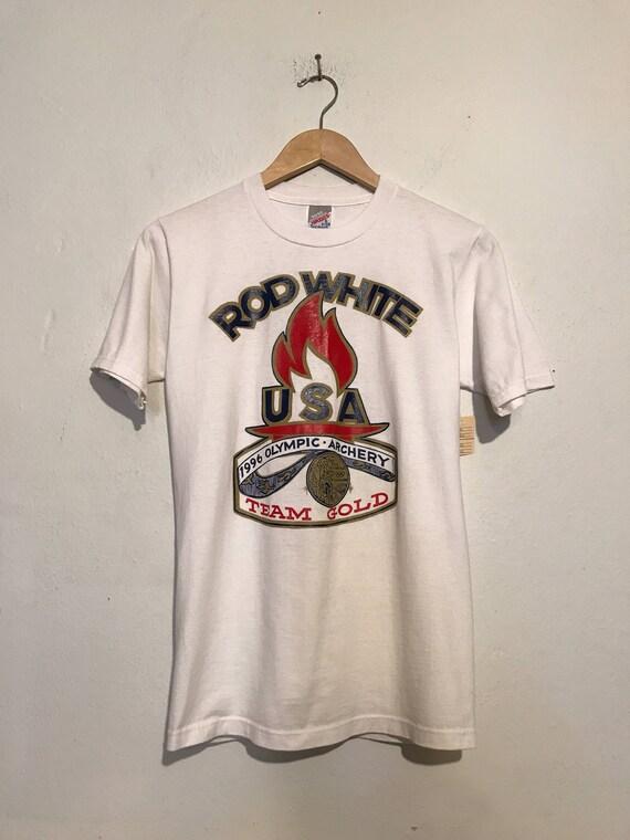 Rod White USA Olympics Tee