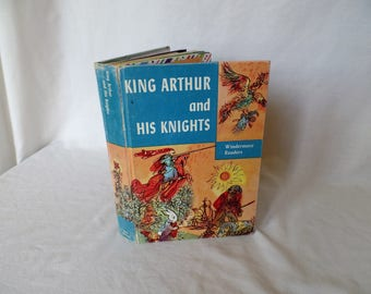 Vintage Junk Journal Hand Made King Arthur and His Knights