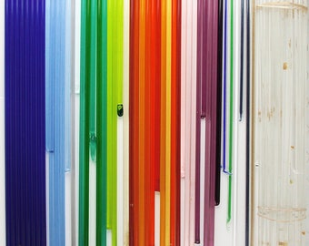 Transparent Glass rods 104 COE  Moretti Effetre  DESTASH clearance 4 lb  - Lot 1