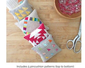 """QUILTING FUN: """"Plenty of Pincushions"""" - Design by Crazy Mom Quilts"""