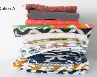 Home Decor Fabric Remnants Bundle
