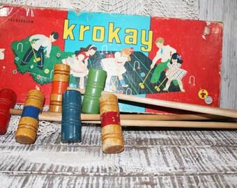 Vintage Croquet, KROKAY Mini Game