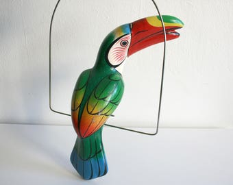 Mexican Toucan Hanging Bird